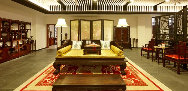 深圳红木家具博物馆二楼2