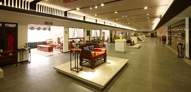 深圳红木家具博物馆二楼