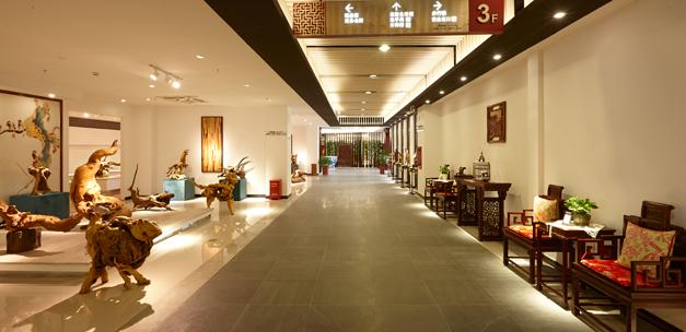 深圳红木家具博物馆三楼2