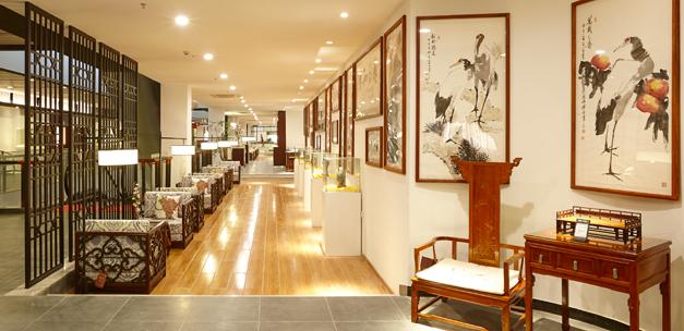 深圳红木家具博物馆三楼3